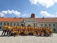 """ERASMUS+ komanda """"We Run Vilnius"""" maratone"""