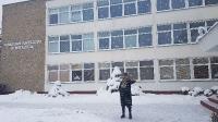 Garsus menininkas Mikhail Karikis gimnazijoje