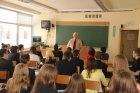 Susitikimas su docentu R. Košuba