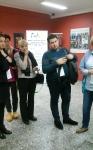 Susitikimas su tarptautinio Erasmus projekto dalyviais
