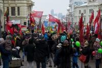 """Vasario 16-osios jaunimo eisena """"Lietuvos valstybės keliu"""""""